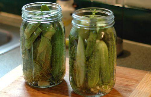 ... Refrigerator Garlic Dill Pickles | dlyn - my fave recipe for dill