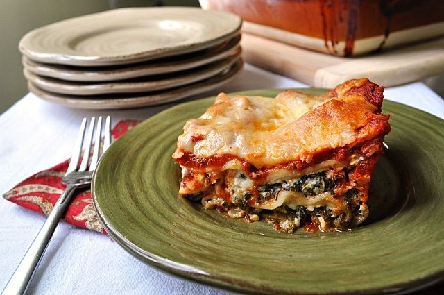 Spinach & Sausage Lasagna {Little B Cooks: Chronicles from a Vermont ...