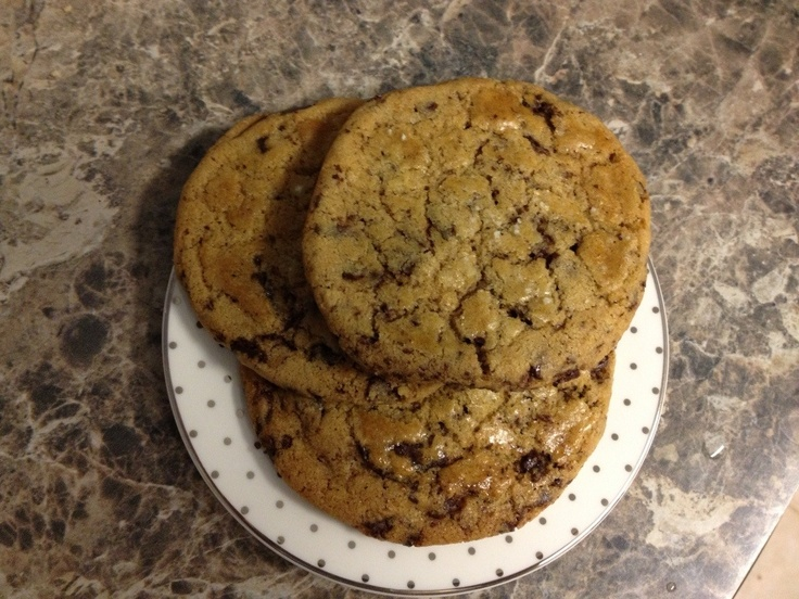 Thousand layer chocolate chip cookies | Desserts and more | Pinterest