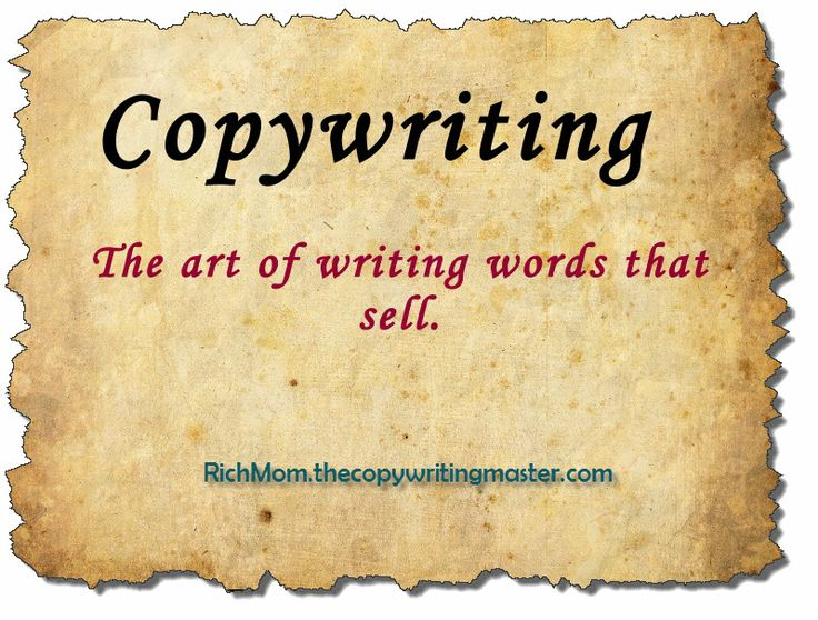 Copy writing for Sales
