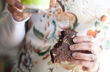 Gluten Free Chocolate Chip Zucchini Brownies