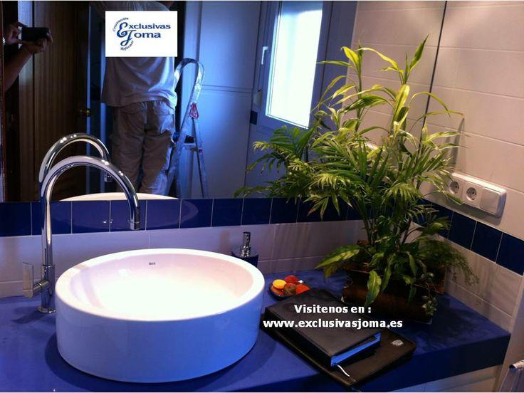 Muebles De Baño Keraben:en un chalet de Tres Cantos Compuesto por azulejos de Vives y Keraben