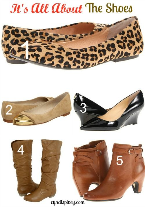 Day 25} It s All About The Shoes: Fashion For Women over 40