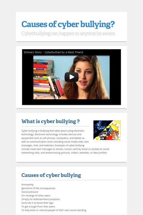 "causes of cyber bullying in hong Cyber bullying in the philippines posted on march 14, 2017 these acts are collectively called ""cyber bullying"" when the labour code on just causes for."