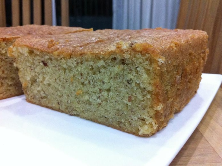 Almond Butter Cake | Tried and tested by me | Pinterest