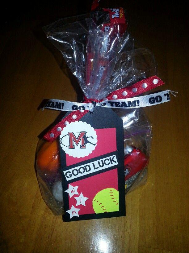 softball goodie bags softball