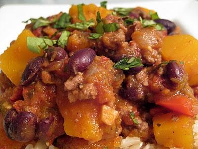 ... : BUTTERNUT SQUASH. Recipe: Butternut Squash and Black Bean Chili