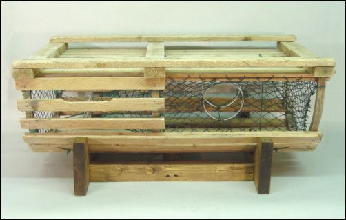 Lobster Trap Coffee Table Beautiful Things Pinterest