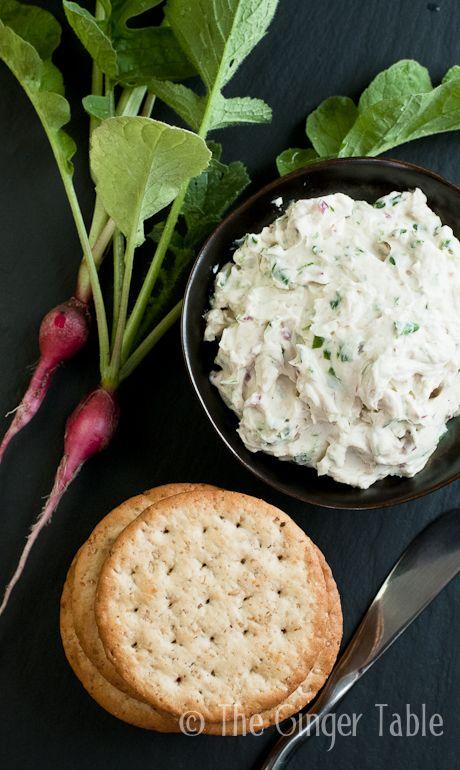 Radish & Cream Cheese Spread | Yummies! | Pinterest