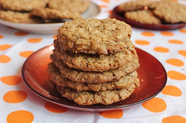Thin and Crispy Oatmeal Cookies | breads/baked goodies | Pinterest