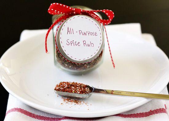 Handle the Heat » Quick Gift Idea – All Purpose Spice Rub ༺♥༻