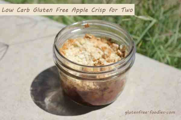 Low Carb Gluten Free Apple Crisp for Two | Healthy Recipes | Pinterest