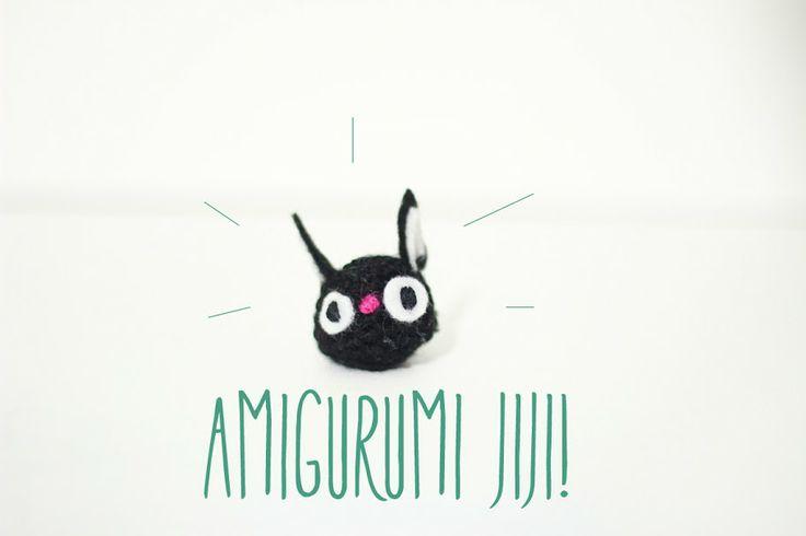 Amigurumi Pattern Free Rabbit : Cat free amigurumi pattern Jiji Ghibli character Kiki ...