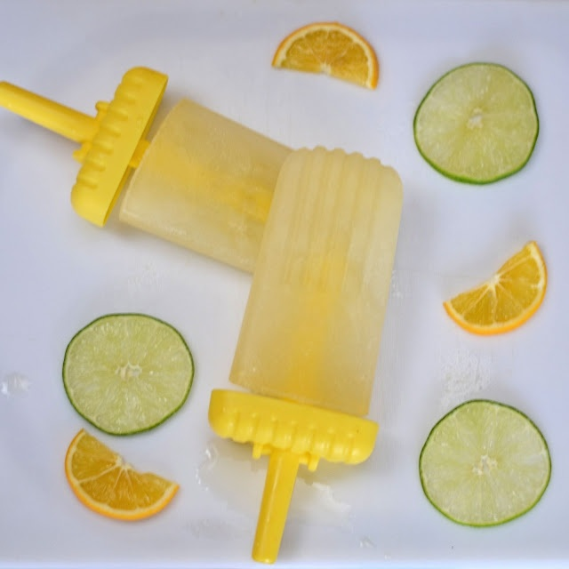 Cooking By Moonlight: Margarita Ice Pops