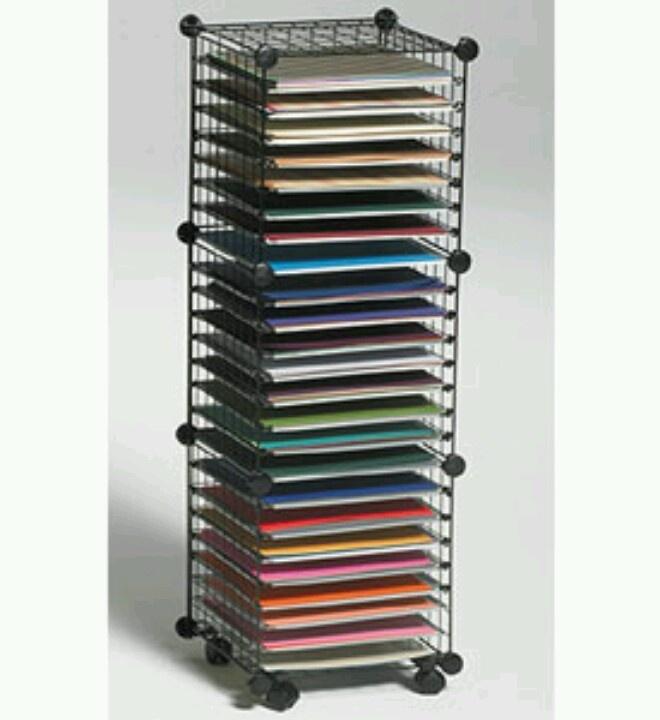 12 x 12 paper storage cube cricut techniques pinterest. Black Bedroom Furniture Sets. Home Design Ideas