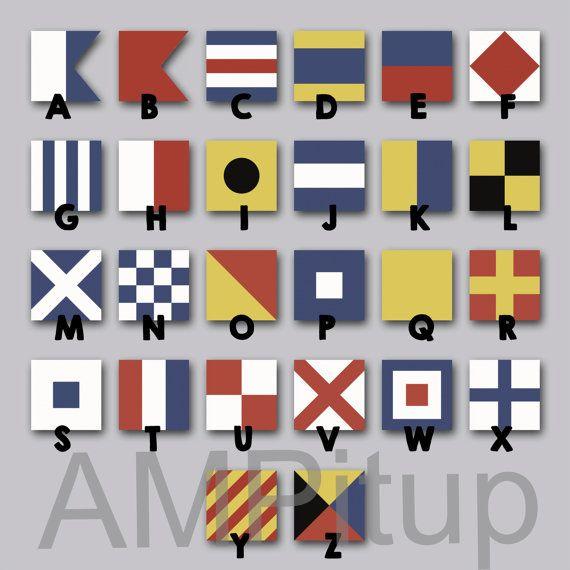 maritime alphabet flags