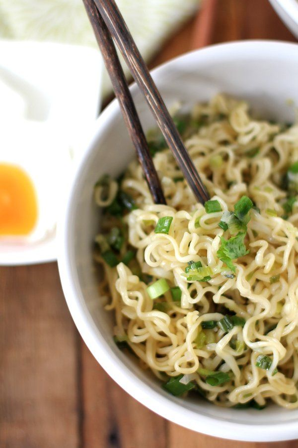 Ginger Scallion Noodles from Inquiring Chef | Sounds like an awesome ...