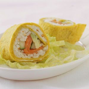 Smoked Salmon Roll-Ups | Recipe