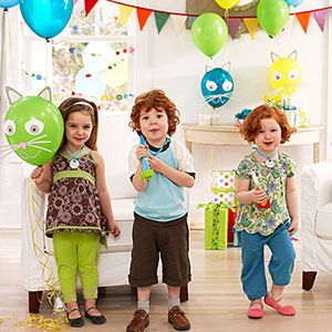 Theme a party around your child's favorite animal.