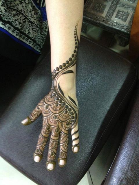 Mehndi For Arms : Stunning mehndi designs for arms