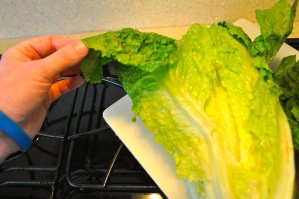 Grilled Romaine Lettuce | Recipe