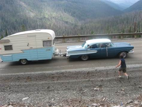 RVing once upon a time