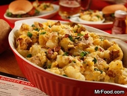 Baked Potato Salad - This recipe won first prize at the 2011 South Beach Wine & Food Festival Idaho Potato Side Dish Challenge!.