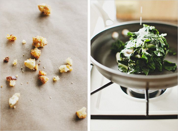 sunny eggs & mustard creamed chard | eat | Pinterest