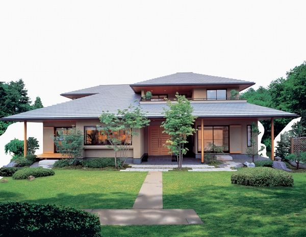 Japanese home and garden style homestead house plans for Japanese home garden