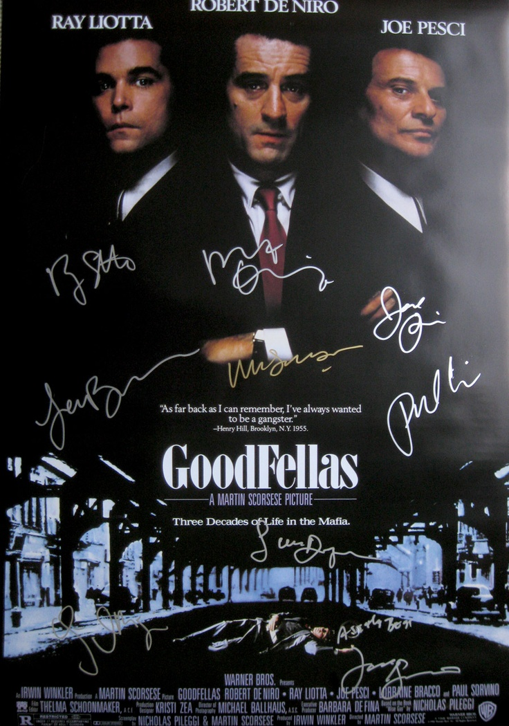 GOODFELLAS 27x40 movie...