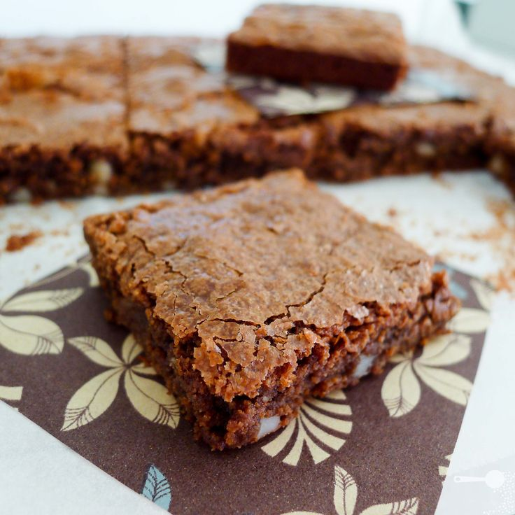 The Best Chewy Flourless Chocolate Brownies | Recipe