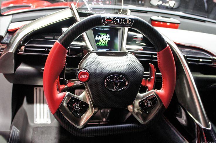 Toyota Ft1 Car Interior Design