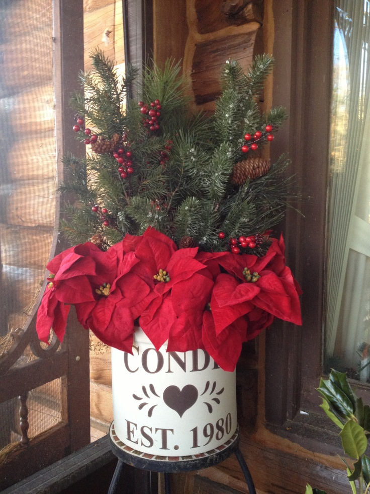 Country Christmas Decorations For Front Porch : Country porch christmas decorations