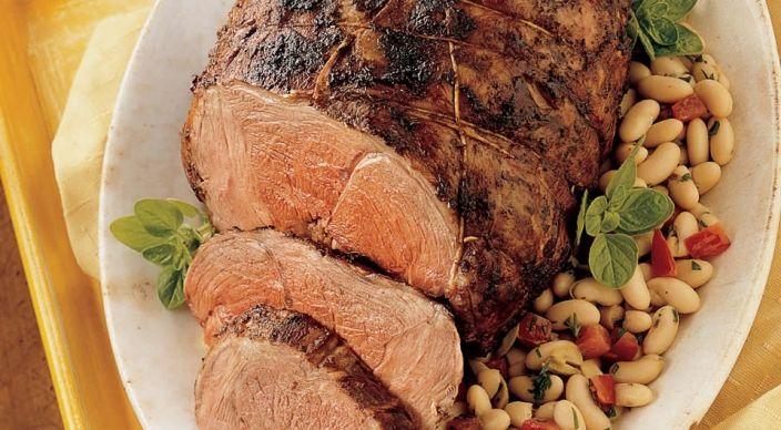 Provençal Rotisserie Leg of Lamb | Beef & Lamb & Pork | Pinterest