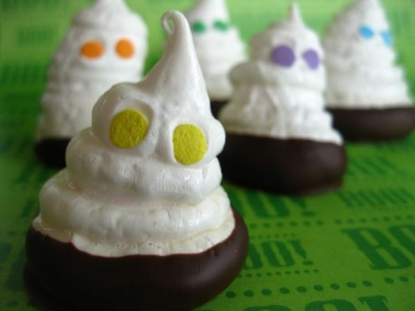 Spooky ghost meringues « One Ordinary Day