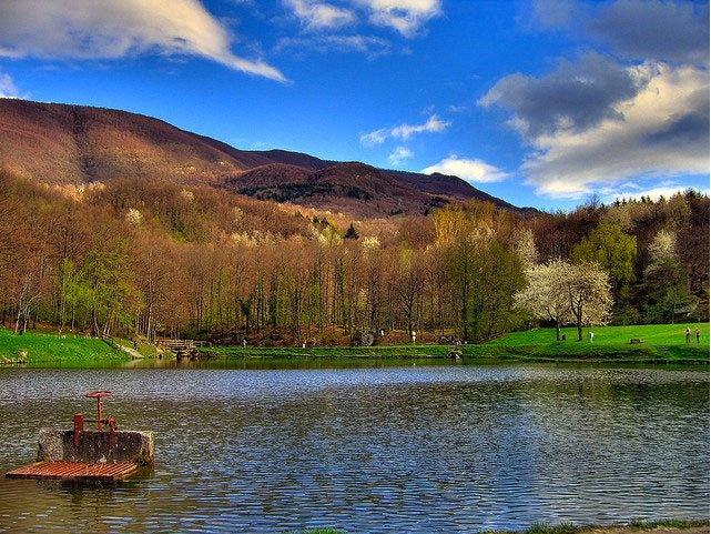 Lago Lungo Bagno Di Romagna Emilia Romagna