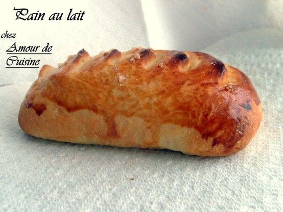 pain au lait   recettes amour de cuisine   Pinterest