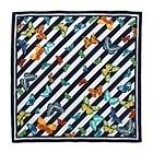 Tiffany & Co. Flutter stripe scarf.   essential to summer wardrobe.