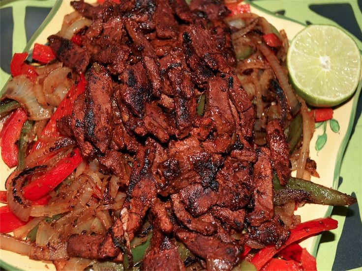 Beef Fajitas Recipe — Dishmaps