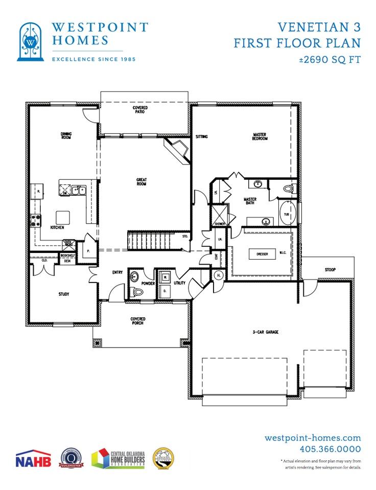 Pin by westpoint homes on floor plans pinterest for Venetian floor plan