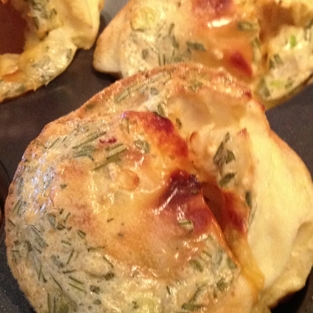 Rosemary pear popovers with smoked gouda. Inspiration + Innovation ...