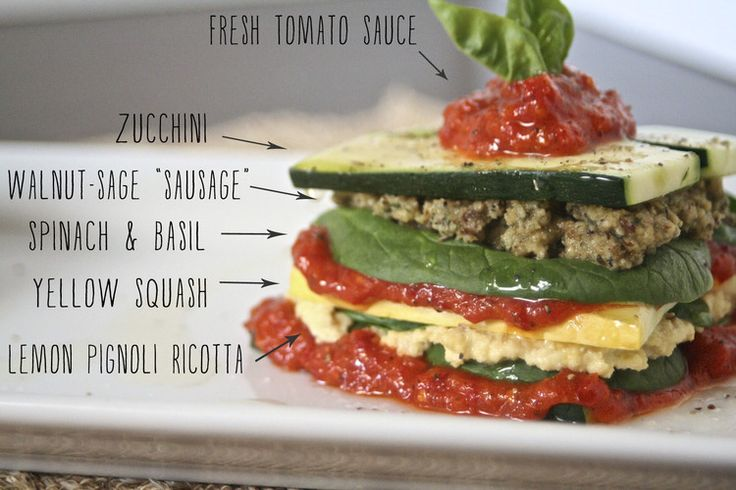 Raw Vegan Lasagna Stack. If you're new to the world of raw foods, this ...