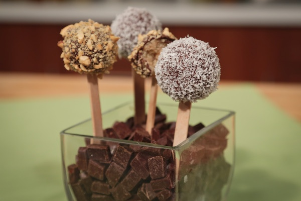 the chew | Recipe  | Carla Hall's Cake Pops