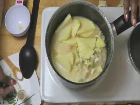 Classic Vichyssoise soup Video.wmv | Cooking ... Soups & Stews & Chil...