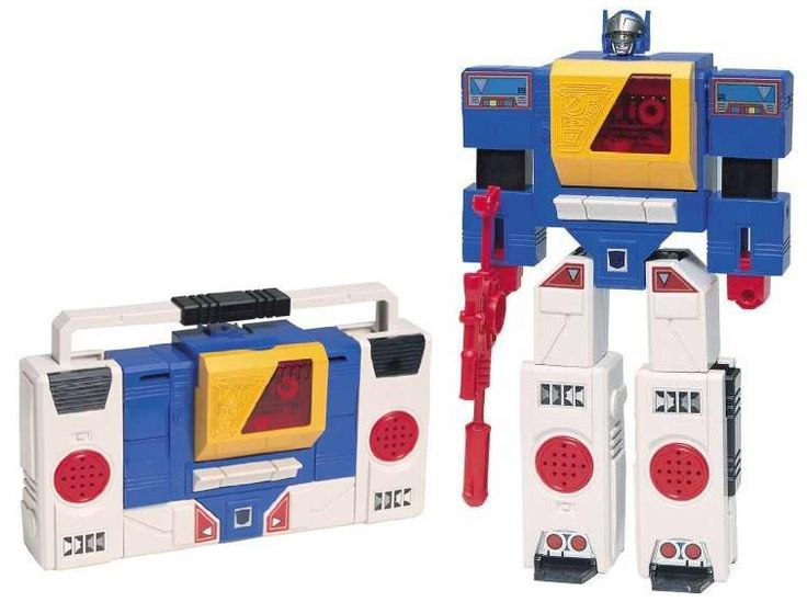 Transformers cassette player