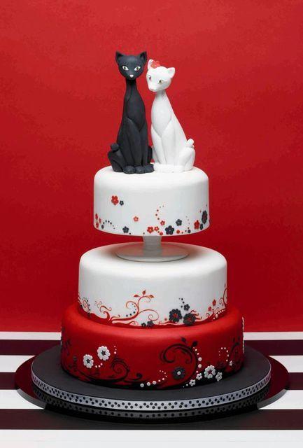 Wedding cats cake.