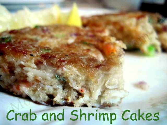 Crab and Shrimp Cakes | Recipes to try. | Pinterest
