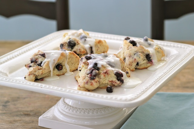 Lemon Blueberry Scones... I need to take another shot at scones. I ...
