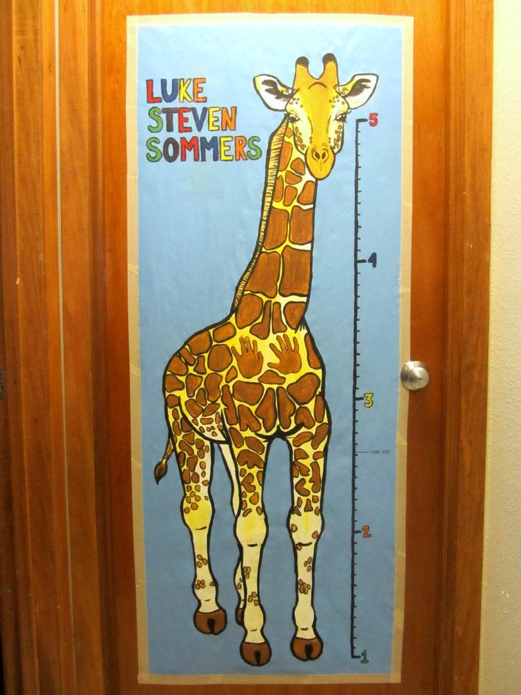 Giraffe Height Ruler for kids