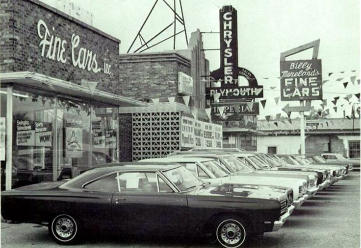 Ford Dealership Sacramento Ca Car Dealership Chrysler Plymouth 1968 | Old Car and tractor Dealershi ...